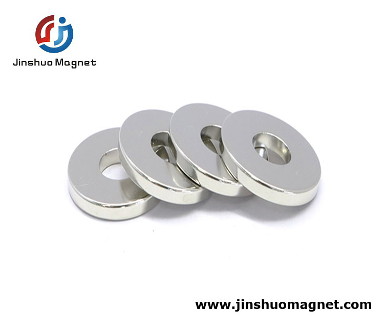 N52 Sintered NdFeB Magnet Ring For Sale