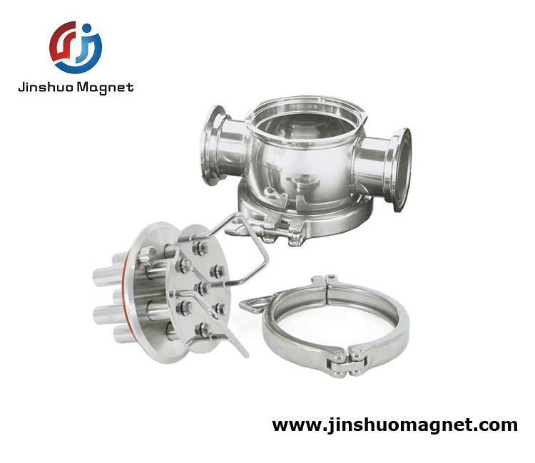 Hygienic Permanent Magnetic Filter Magnetic Separator
