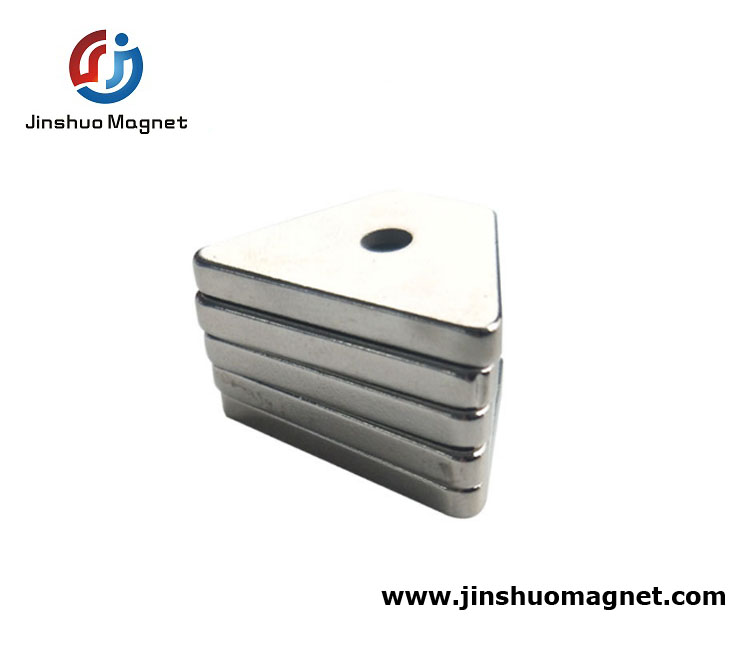 Special Permanent Magnet Triangular Neodymium Magnets For Sale